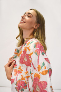Fee G Floral Embroidered Coat