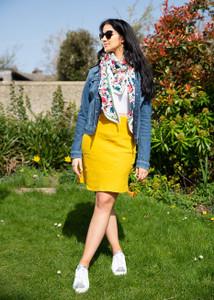 Hartford Judith Linen Skirt