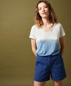 Hartford dip-dye linen T-Shirt