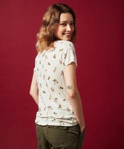 Hartford summer printed linen t-shirt