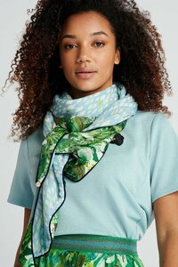 POM Amsterdam Double Jungle Print Scarf