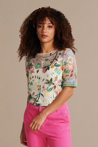POM Amsterdam Embroidered Top