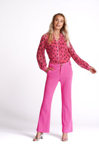 POM Amsterdam Strawberry Pink Blouse