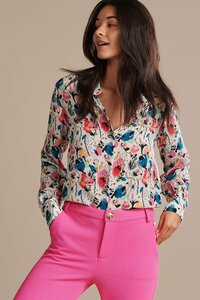 POM Amsterdam Delicious Mess Top Ecru Blouse