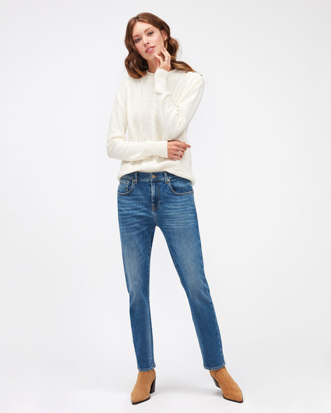 7 For All Mankind Relaxed Skinny Slim Illusion Reality Jeans