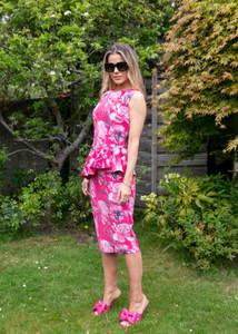 Chiara Boni Xilia Print Dress Peony