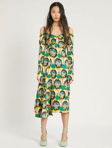 Sportmax Code Floral Print Dress