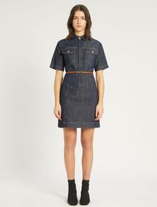 Sportmax Code Short Denim Dress
