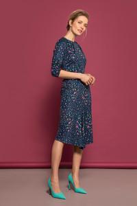Caroline Kilkenny Rainbow Speckled Jersey Dress