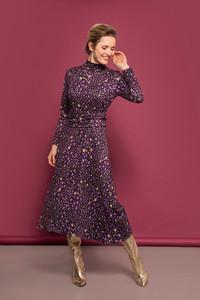 Caroline Kilkenny Violet Jersey Print Dress