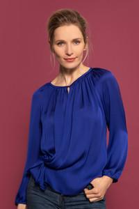 Caroline Kilkenny Lana Blouse Blue