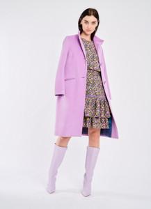 Fee G lilac wool coat