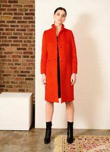 Fee G red wool coat