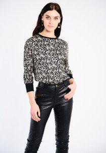 FeeG AW21 Speckled Print Top
