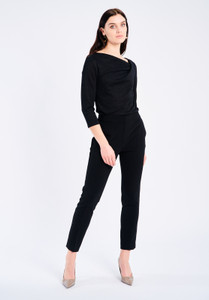 Fee G Black Suit Trousers