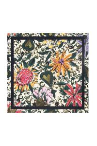 POM Amsterdam Flower Print Square Maxi Scarf