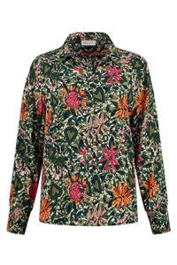 POM Amsterdam Floral Lovehearts Blouse