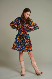 POM Amsterdam Colourful Shirt Dress