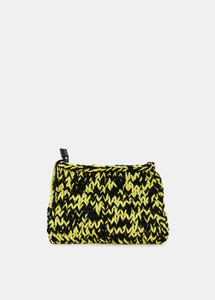 Essentiel Antwerp Knitted Clutch Bag