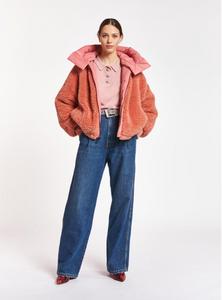Essentiel Antwerp Dust Pink Reversible Puffer Jacket