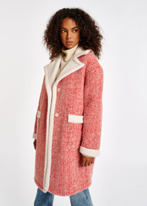 Essentiel Antwerp Wool Blend Teddy Coat