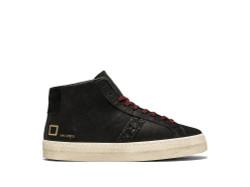 DATE Black High Sneakers