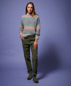 Army Green Corduroy Trousers