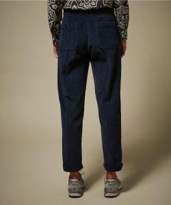 Hartford Navy Corduroy Trousers