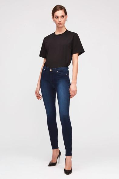 7 For All Mankind Skinny Indigo Jeans