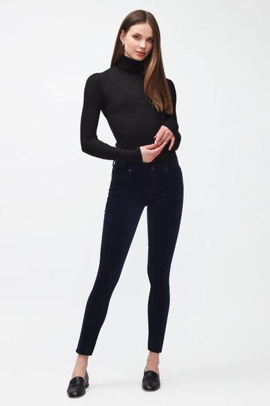 7 For All Mankind Super Skinny Velvet Jeans