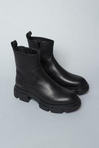 Copenhagen Studios Sleek and Shiny Leather Boots