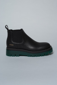 Copenhagen Studios Green Sole Leather Boots