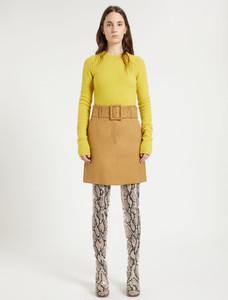 Sportmax Short Camel Skirt