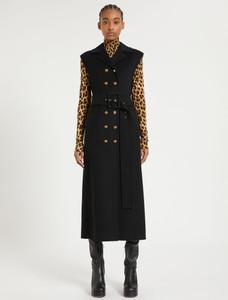 Sportmax Sleeveless Wool Coat