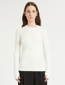 Sportmax White Slim Fit Top