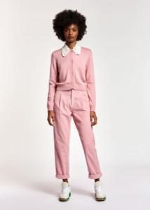 Essentiel Antwerp Candyfloss Pink Cord Trousers