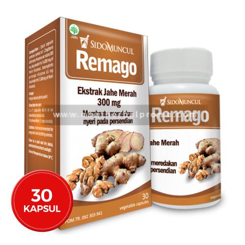 Sido Muncul Remago 30 Kapsul Untuk Obat Sakit Kepala Dan