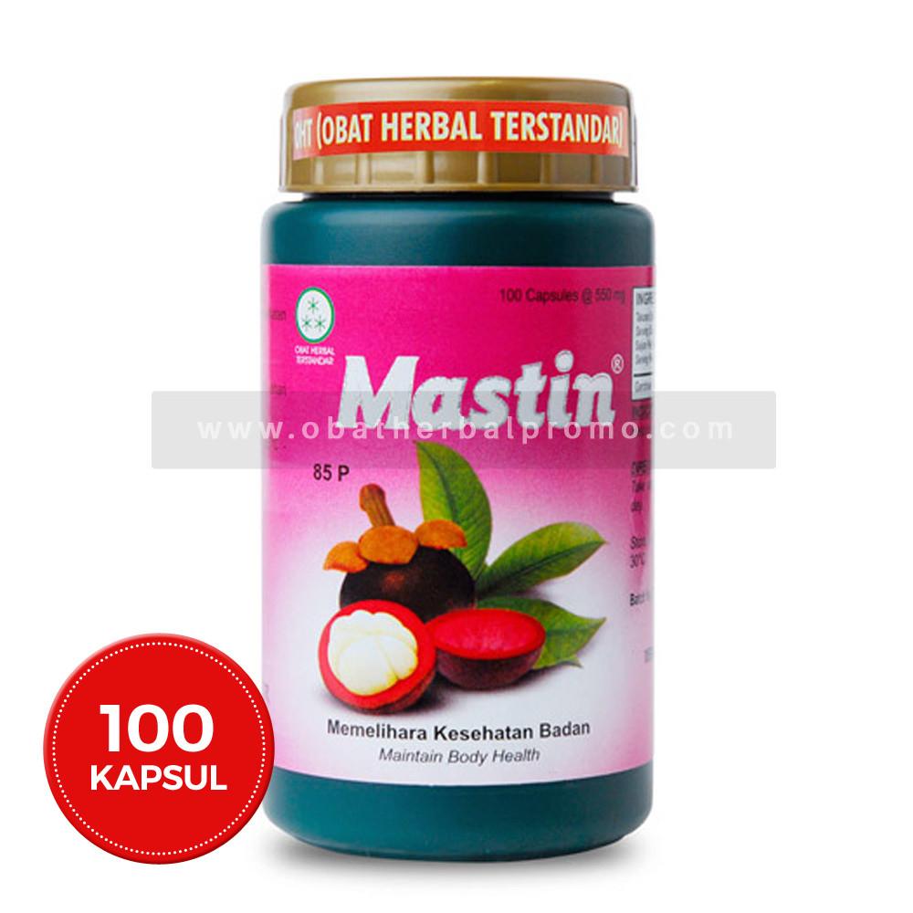 Borobudur Herbal Mastin 100 Kapsul untuk Obat Kanker Payudara