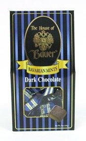 Dark wrapped Bavarian Mints - 5 oz. Box