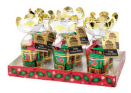 """6 oz. """"Napolitains"""" in Gold Gift Bouquet"""