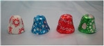 Foiled Milk Chocolate Christmas Bells - Per Pound