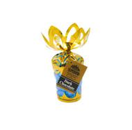 Blue Hearts - Dark Chocolate in 6 oz. Gold Gift Bouquet