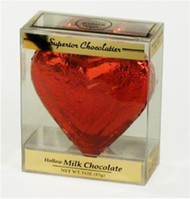 3 oz. Foiled Heart in Gift Box