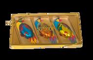 """""""Majestic Macaws"""" 3 pc Gift Box"""