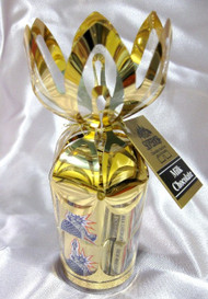 "6 oz. Milk Chocolate ""Liberty Squares"" in Gold Gift Bouquet"