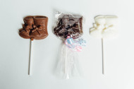 Baby Booties - Chocolate Pops Dozen