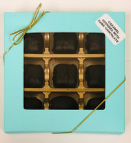 Chocolate Covered Caramel 9pc Box (Dark)