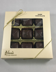 Blum's Dark Chocolate Caramels