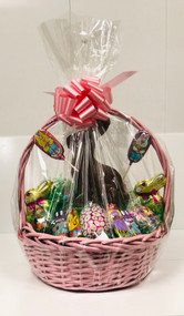 Large Easter Basket (Pink)