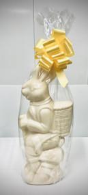 3.5lb White Chocolate Bunny